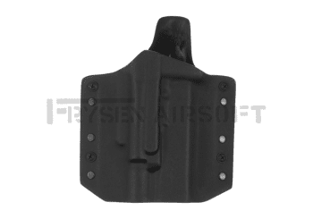Warrior Ares Kydex Holster for Glock 17/19 with X400/X300 Black