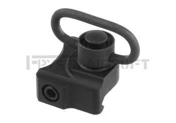 Metal Detacheble Swivel QD Sling Mount Black