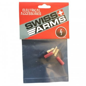 Swiss Arms 3,5 mm gold connectors - 2 sets