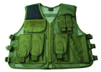 Vest Tactical Green RECON one size