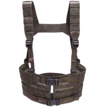 Snigel Modular Chest Rig Low Olive
