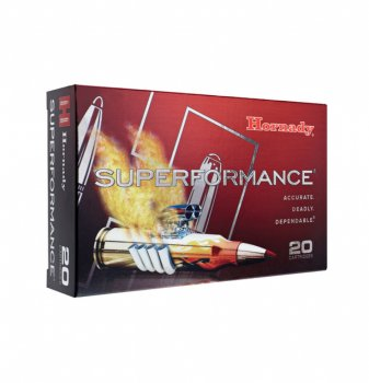 Hornady Superformance Ammunition 6.5X55 140 GR SST SPF 20/Box