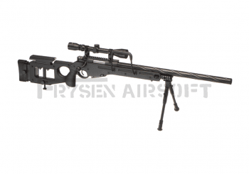 WELL SV-98 / MB4420D Sniper Rifle Set Black