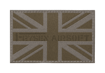 Great Britain Flag Patch Ral 7013