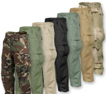Helikon Tex BDU Pants Black S-Long
