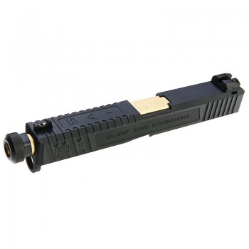 EMG SAI Tier One Slide Kit G&P - Gold Barrel for Umarex Glock 17 GBB Pistol
