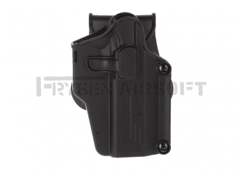 Amomax Universal Paddle Holster Black