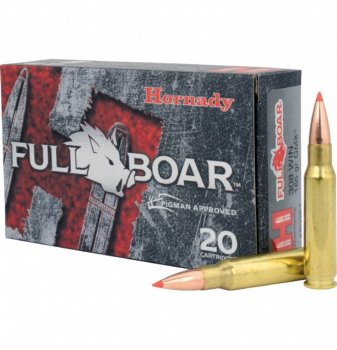 Hornady Full Boar Ammunition 308 Win 165 GR GMX FB 20/Box