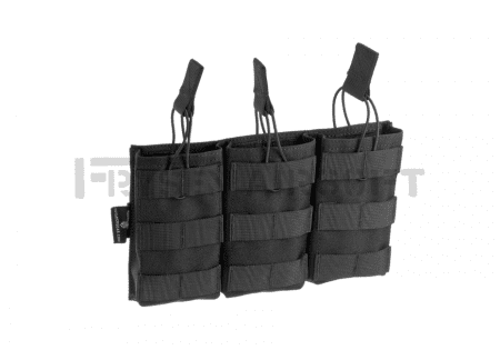 Invader Gear 5.56 Triple Direct Action Mag Pouch Black
