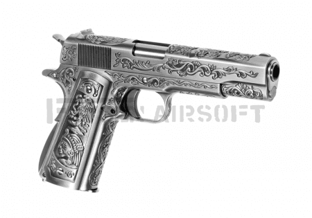 WE M1911 Etched Full Metal GBB