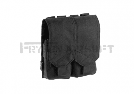 Invader Gear 5.56 2x Double Mag Pouch Black