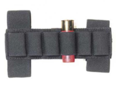 Cartridge holder for stock or arm Black