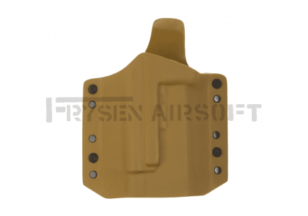 Warrior Ares Kydex Holster for Glock 17/19 with TLR Coyote