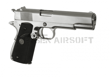 WE M1911 MEU Full Metal GBB Silver