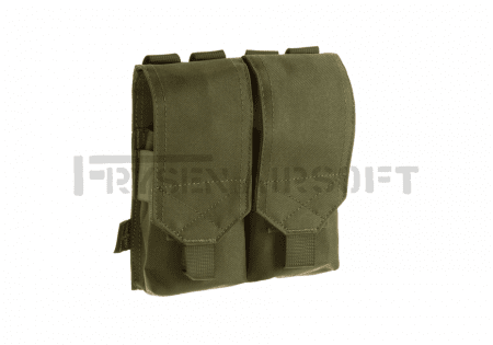 Invader Gear 5.56 2x Double Mag Pouch OD