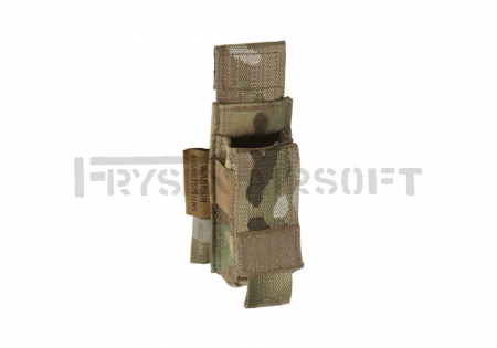 Warrior Driect Action Single Pistol Mag Pouch 9mm Multicam