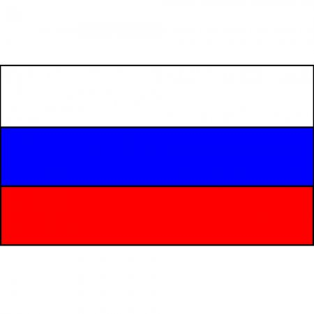 Flag Russian Federation Flag