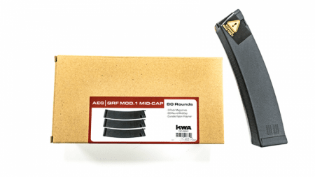 KWA Magazine QRF Mod.1 Midcap 80rds 3-pack