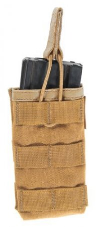 STRIKE SINGLE M4/M16 MAG POUCH COYOTE TAN