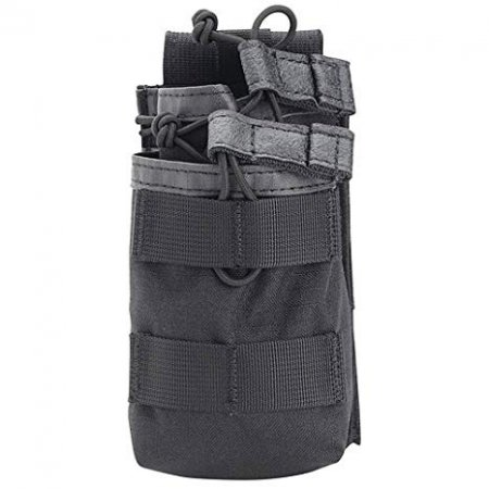 TIER STACKED M16 MAG POUCH (HOLDS 2) 30 ROUND BLACK