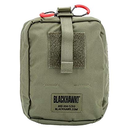 QUICK RELEASE MEDICAL POUCH RANGER GREEN