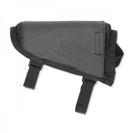 TAC CHEEK PAD-ADJUSTABLE W/HAWKTEX-BLACK