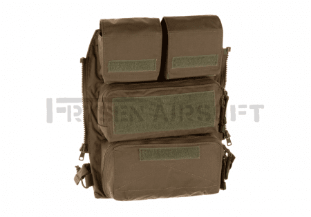 Crye Precision AVS/JPC Pouch Zip-on Panel 2.0 Ranger Green